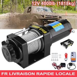 4000lb-Treuil-electrique-de-cable-d-039-acier-12V-TREUIL-de-pour-treuil-bateau-ATV