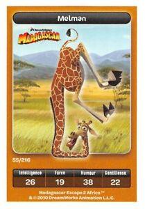 Card-Carrefour-Dreamworks-Madagascar-Melman-No-55