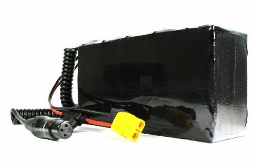 Enerpower Deluxe Battery Li-Ion 48V Samsung 29E Pedelec E-Bike XLR LED 13S