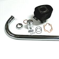 Simson SR1 SR2 E Zylinder Kolben Krümmer Kurz für Motor Krümmermutter dichtung