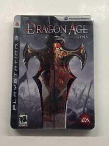 Dragon Age: Origins Collector's Steelbook Edition PS3 NEW SEALED!! PlayStation 3