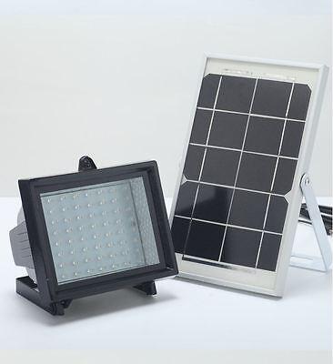 Bizlander 5W 60LEDs Solar Light for outdoor Billboard sign board Tree Garden