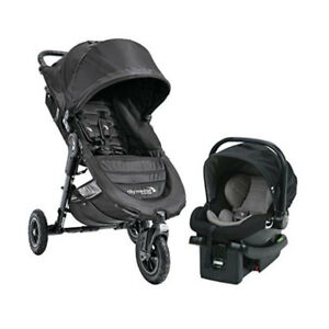 Baby Jogger City Mini GT Travel System 2018 - Comes w/Stroller & Car Seat