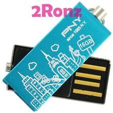 PNY 16GB 16G USB Flash Pen Drive Memory Disk Stick Blue