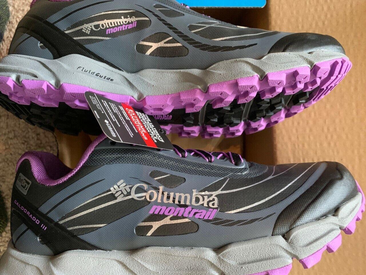 Columbia coldorado Montrail Mujer Trail  Corriendo zapatos o entrenador-tamaño 5  autorización