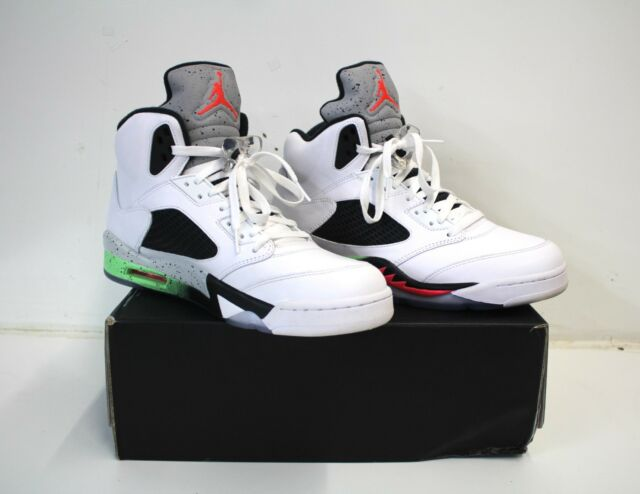 Nike Air Jordan Retro 5 V Poison Green Space Jam Pro Stars Mens 12 ... 041ed4136