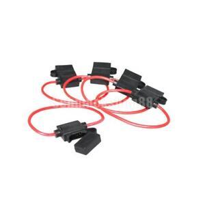 5Pcs 14 AWG Gauge Kupfer 12 Volt ATC Sicherungshalter Draht Kabel ...