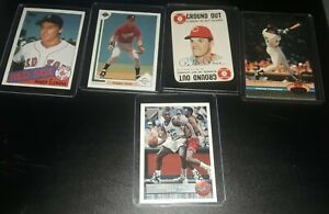 5 Card Lot Shaq, Clemens, Chipper, Rose, and Frank Thomas Upper Deck, Topps RC