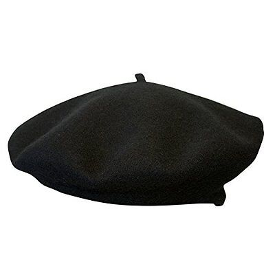 77b3030a2 Laulhere Authentic Basque Beret-France-3 Colors-Same Day Shipping  -Clearance-51 | eBay