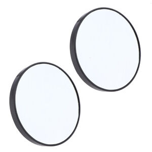 2pcs Makeup Mirror 15x Magnifying Mirror With Two Suction