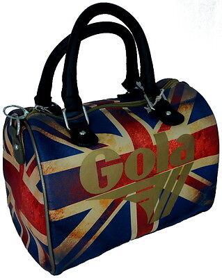 Borsa Borsello Bauletto Donna Gola Bag Woman Hathaway Vintage UJ Black//Gold//Mult