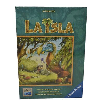 NIB Sealed Ravensburger LA ISLA Strategy Board Game by Stefan Feld MSRP $35