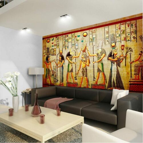 Ancient Egyptian History Art 3D Full Wall Mural Photo Wallpaper Home Decal Kids