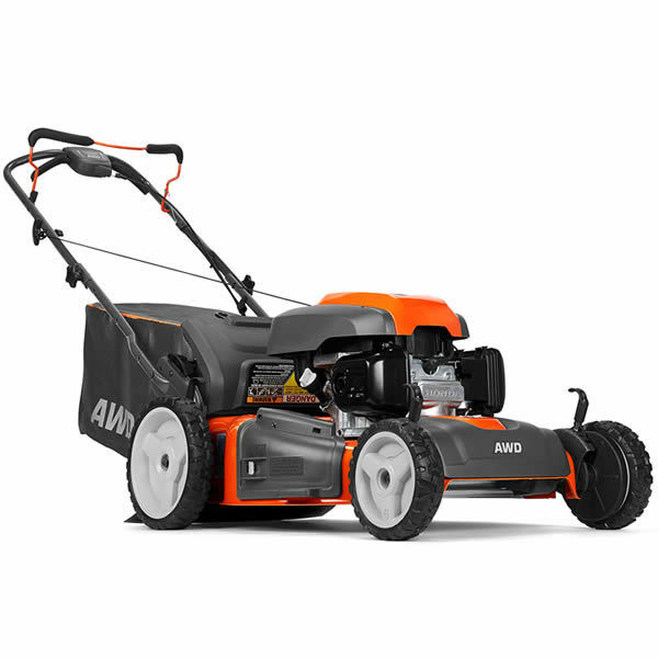 vy self petrol honda mower hrx propelled lawn