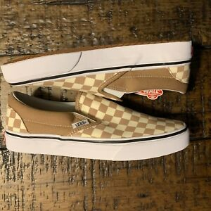 64fb4b51077 Image is loading Vans-Classic-Slip-On-Checkerboard-Tiger-039-s-