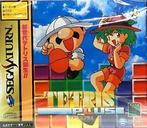USED-Sega-Saturn-Tetris-Plus-09068-JAPAN-IMPORT
