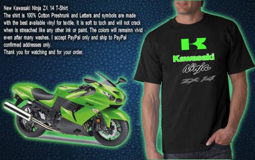 005 KAWASAKI NINJA  ZX14 100/% Cotton T-Shirt NEW