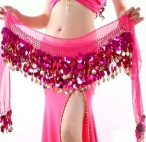 Pink-Wrap-Round-Sequin-Skirt-Or-Top-Festival-Top-Ibiza-Marbs