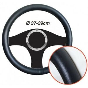 Copri-volano-effetto-pelle-nera-Diametro-37-39cm