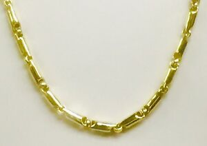 18kt Yellow Gold Heavy Handmade Link