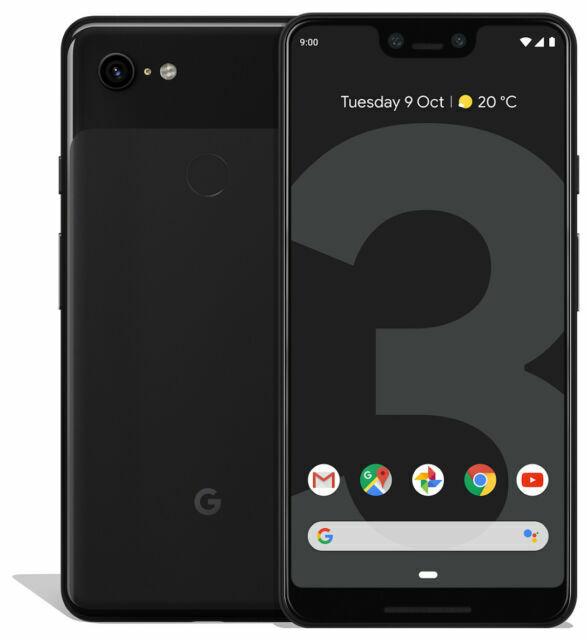 Google Pixel 3 Xl 128gb Just Black Unlocked For Sale Online Ebay