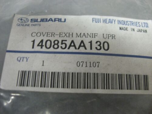 UPPER RIGHT PN 14085 AA130 NEW GENUINE SUBARU OEM EXHAUST MANIFOLD COVER