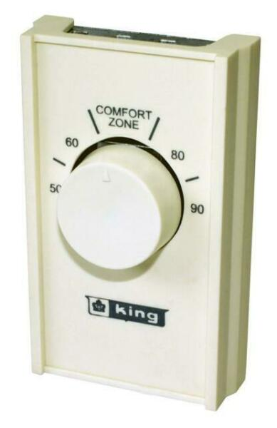 King S22a Heat Anticipated 22 Amp Single Pole Line Voltage