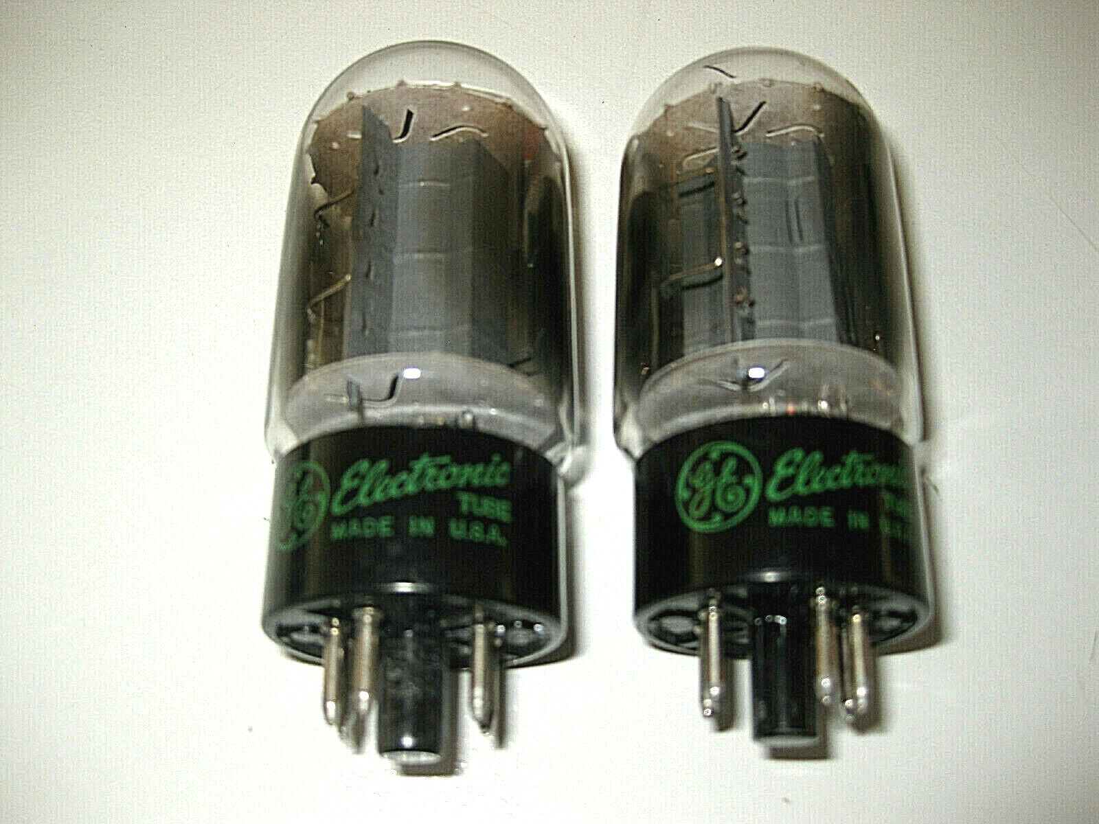 6L6 GT General Electric made in USA 1 Pärchen