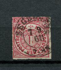 Schleswig Holstein - Stempel Segeberg nachverwendet auf NDP Nr. 4  (D1282-2)