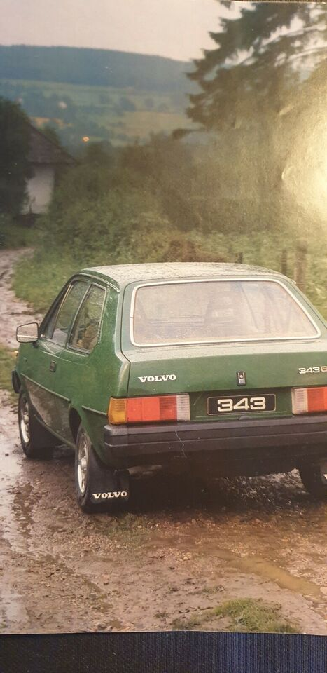 Brochure, Volvo 340