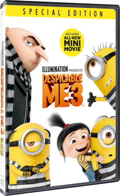 Despicable Me 3 - DVD Special Edition - Illumination New Mini-Movie New Sealed
