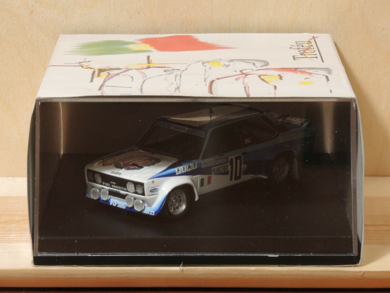 Trofeu 1407 1  43 Fiat 131 Abbas MonteCyelo 1980 rohrl - geistdorfer