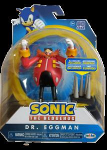 Sonic the Hedgehog 4 pouces Dr Eggman /& Spike Trap figurine de collection jouet