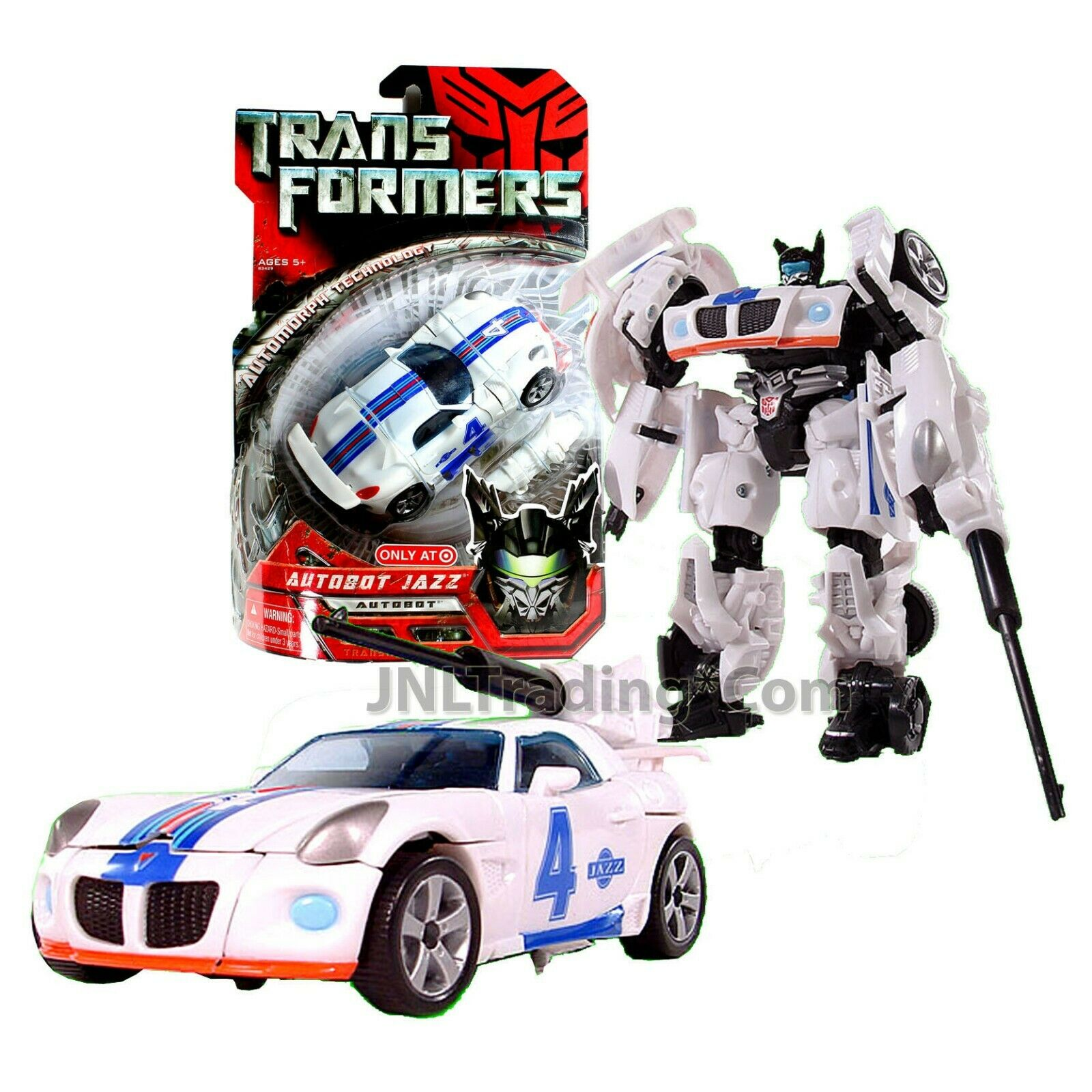 Year 2007 Hasbro Transformers 1st Movie Exclusive Deluxe classe 6 Autobot Jazz