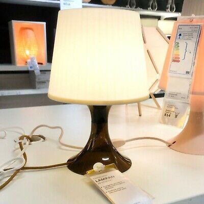 IKEA Lampan Lámpara de Mesa Braun Noche Luz Estantería Salón Nuevo   eBay