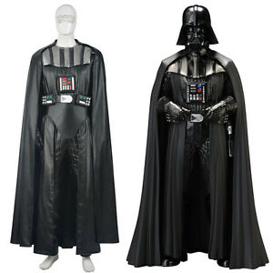 image is loading star wars darth vader halloween cosplay costume black - Halloween Darth Vader