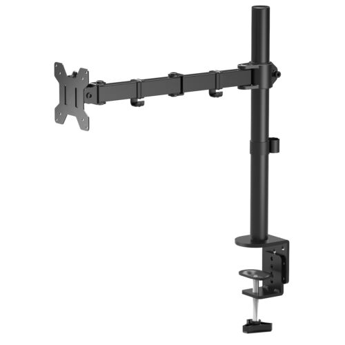 "Single Monitor Arm Fully Adjustable Desk Mount Stand For 10 Screen up to 27/"" TOP"