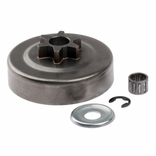 3//8 6T Clutch Drum Sprocket Washer E-Clip Kit Chainsaw Parts for STIHL MS170 180