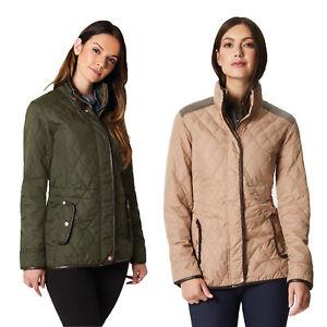Regatta-Coretta-Women-039-s-Quilted-Water-Repellent-Insulated-Jacket