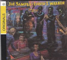 JOE SAMPLE & DAVID T. WALKER - swing street cafe CD
