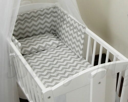 Nursery bumper approx.130cm long//Soft Paded// to fit Swinging Crib//Cradle 90//40cm