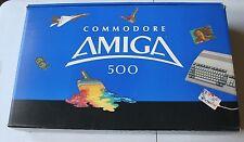 Vintage Commadore 500 A500 Amiga Computer w/ Original Box Packing Super Rare VTG