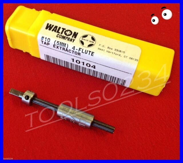 """Walton 12313  Set of 3 Tap Extractor Replacement Fingers 5//16/""""  3 Flute USA MADE"""