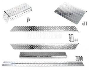 Club Car DS Golf Cart ALL AMERICAN™ Diamond Plate ATP Accessory Kit