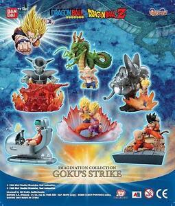 BANDAI DRAGONBALL Z gashapon IMAGINATION COLLECTION GOKU'S STRIKE Originale