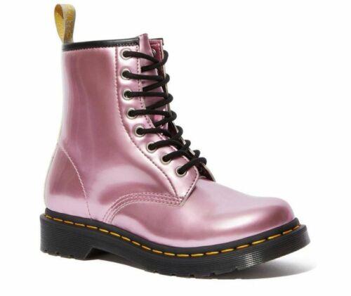 Dr Martens 8 Loch 1460 Vegan Pink Metallic 25279650Original Classic Doc