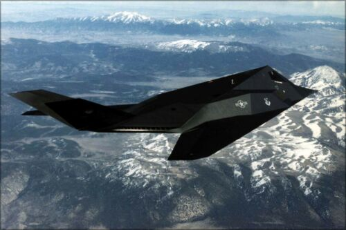 Poster Many Sizes; Lockheed F-117A Nighthawk Stealth Fighter Persian Gulf 1996
