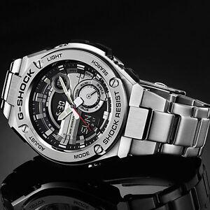 New Casio G-Shock G-Steel Tough Solar Stainless Steel Men s Watch ... 9f110c9f2cb3