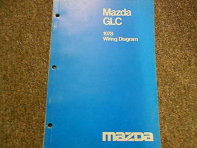 1978 Mazda GLC Electrical Wiring    Diagram       Service       Repair