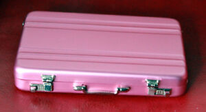1-3-1-4-scale-BJD-Dollfie-Aluminum-Briefcase-Suitcase-Halliburton-Style-Pink